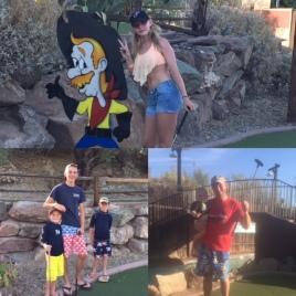 We enjoyed the mini-golf experience as an included feature of the resort!