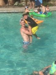 The water was great & the kids had fun!